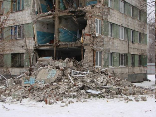 Волгоград обрушение общежития
