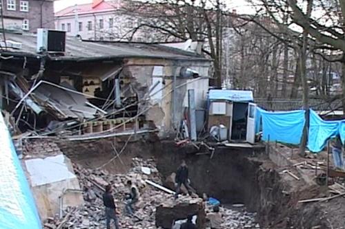 "Калининград. Обрушение ""Съешь-ка"""