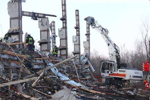 Москва обрушение при реконструкции