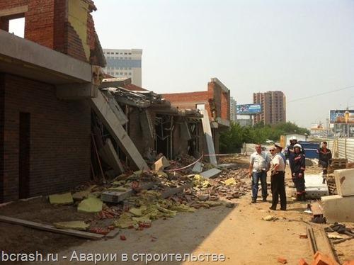 Новосибирск обрушение магазина