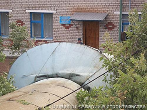В Татарстане упала водонапорная башня