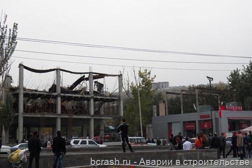 Ереван. Обрушение на Ханджяна 1