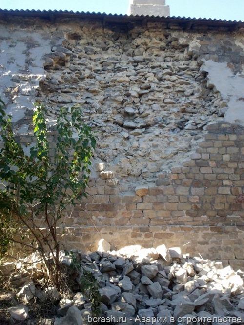 Новошахтинск. Обрушение стены жилого дома