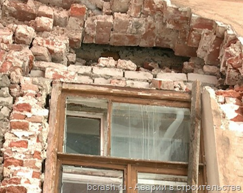 Ярославль. Обрушение дома на проспекте Октября
