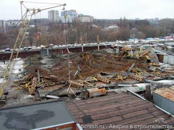 Сумы. Обрушение торгового центра