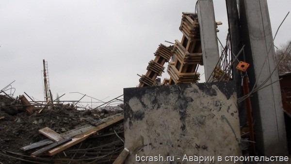 Сумы. Обрушение торгового центра 1