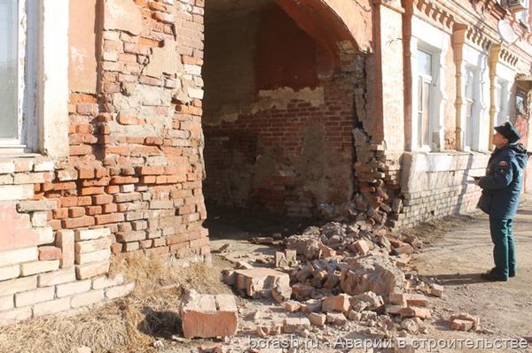 Астрахань. Обрушение дома на Бакинской