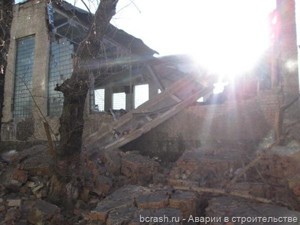 Чита. Обрушение спортзала ФСБ. Фото 4