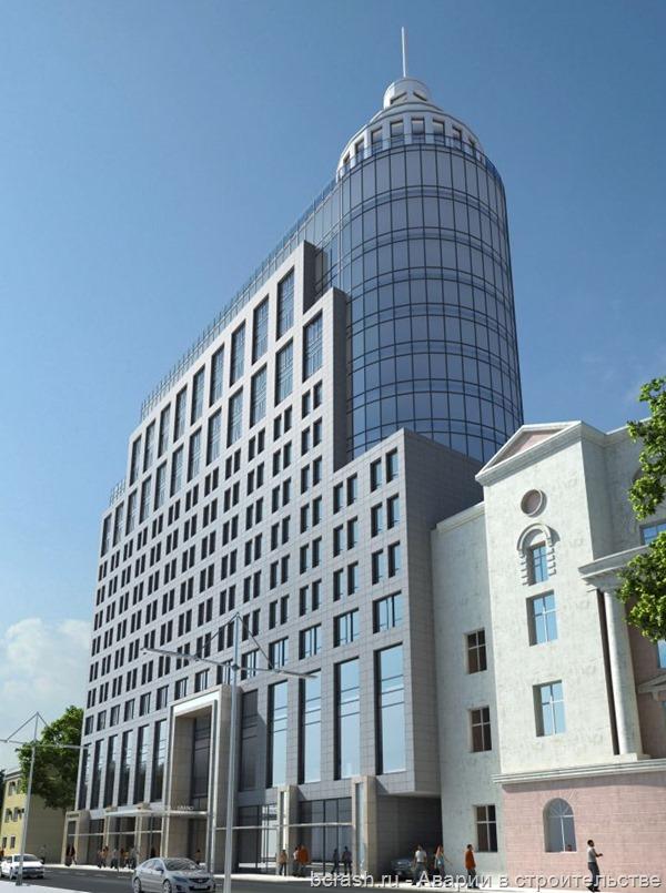 Воронеж. Обрушение при строительстве гостиницы. Фото 2