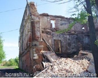 Ростов. Обрушение стены здания на Коммунаров