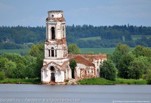 Обрушение Запогостской церкви. До обрушения