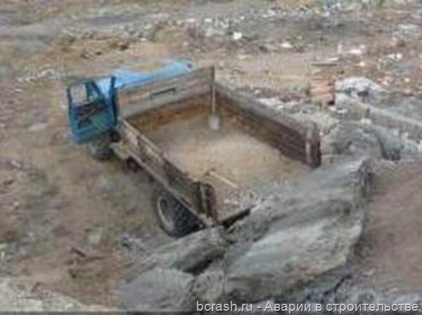 Бурятия. Мужину задавило на территории бывшего завода ЖБИ