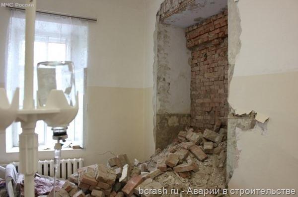 Красноярск. Обрушение на Вейнбаума